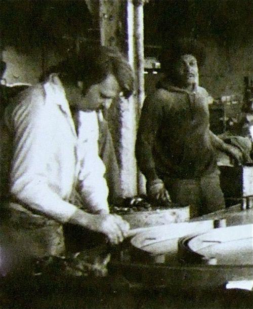 Big hair at Liggett Spring and Axle Co. - September 1975 Monongahela PA