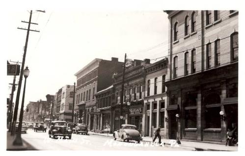Monongahela City Postcard 1930's