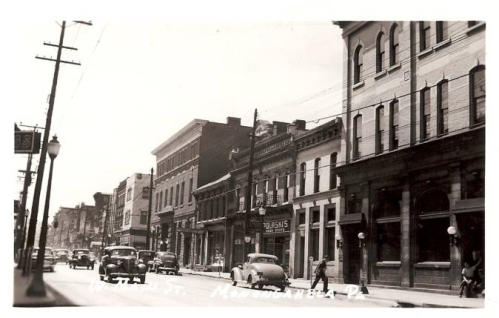 Monongahela City Postcard circa 1940?