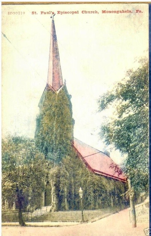St. Paul's Church, Monongahela PA circa 1909