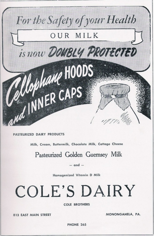 Doubly Protected - Cole's Dairy, Monongahela PA