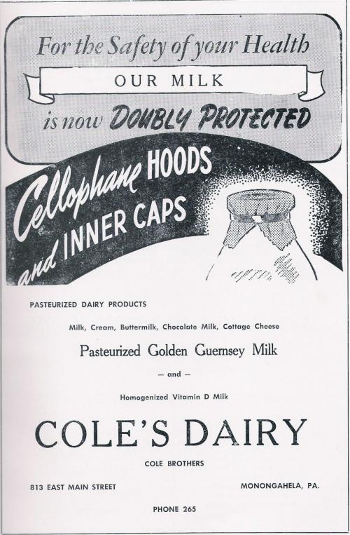 Doubly Protected - Cole's Dairy, Monongahela PA