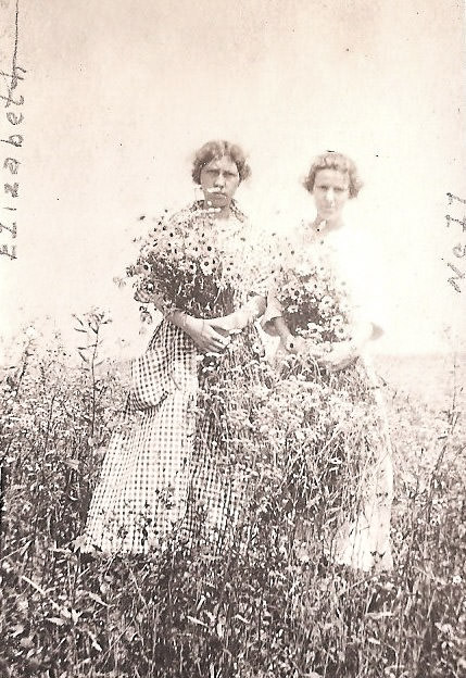 20141118-Nellie-Sickels-album--96--Elizabeth-Gillingham-and-Nellie-Sickels-with-daisies_1500px_optimized
