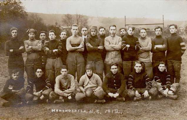 1912 Monongahela High School Football Team